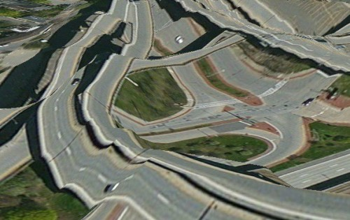 apple maps highway image