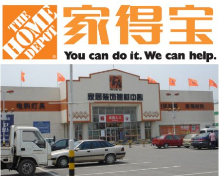 home depot lacked customer insight in China