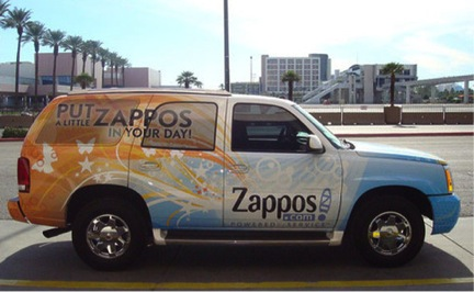 Customer Culture Car from Zappos