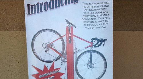 wholefoods bike stand