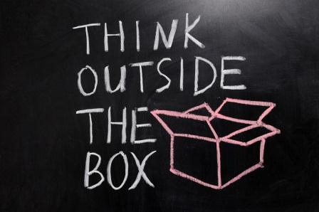 Think outside the box and profit from your competition