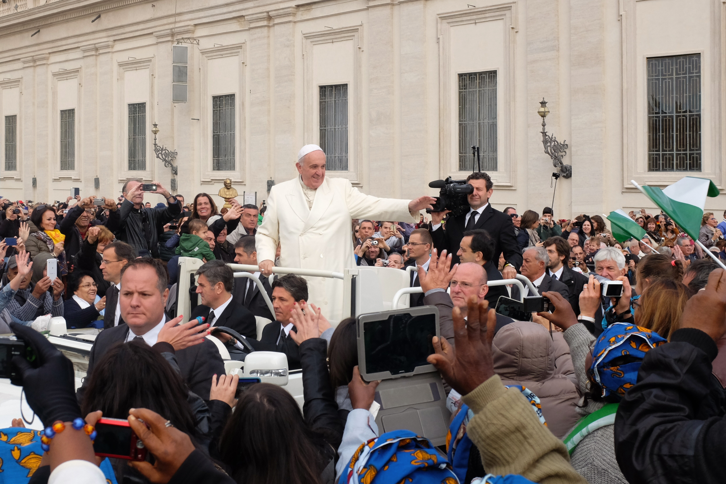 Pope Francis at general audience